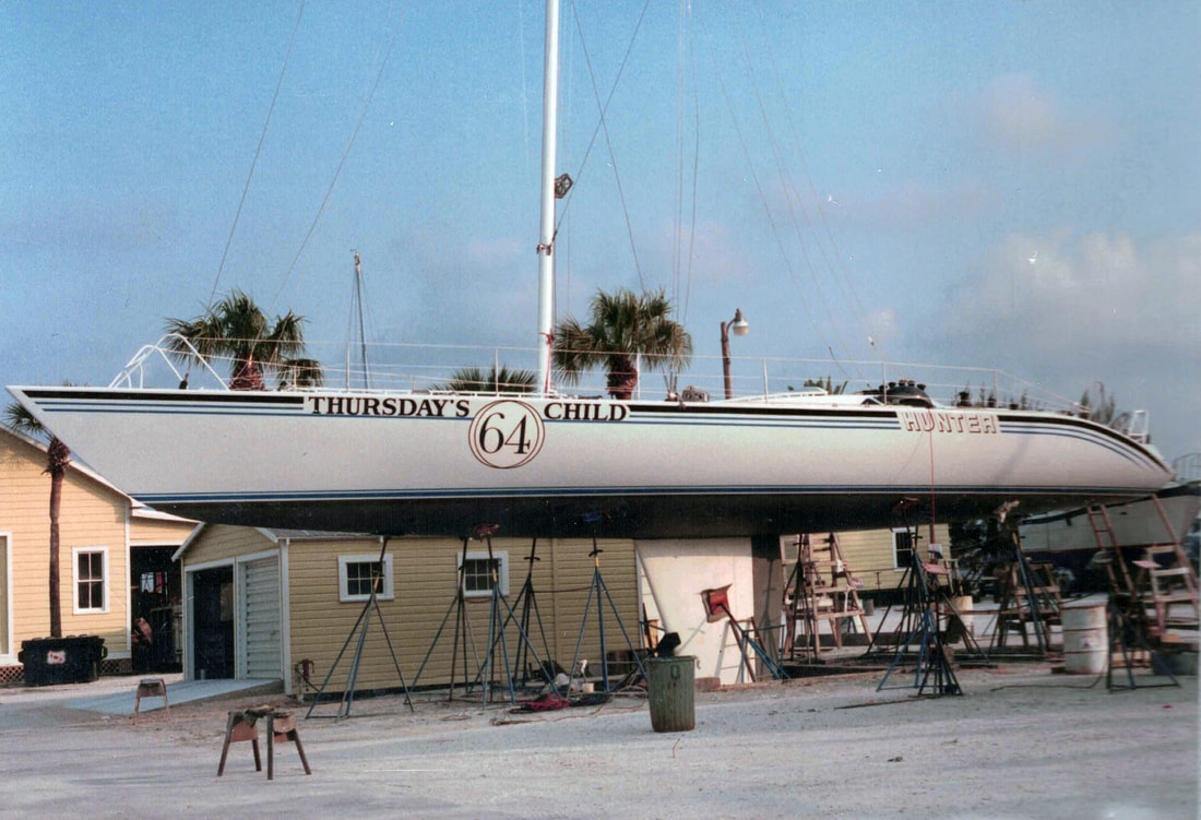 Thursday's Child Yacht New York to San Francisco Record Holder